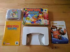 Diddy Kong Racing (Nintendo 64, 1997) N64 Video Game Complete CIB Rare Tested