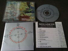 MEGADETH /CRYPTIC WRITINGS / JAPAN LTD CD bonus track