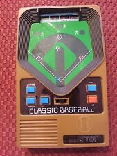 Mattel Handheld 2001 Electronic CLASSIC BASEBALL Game Cleaned tested works