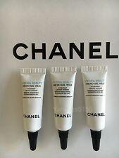 Lot of 3 Chanel Hydra Beauty Micro Gel Yeux Hydration Eye Gel 3ml/0.1oz each