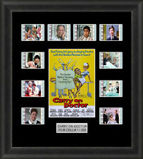 CARRY ON DOCTOR FRAMED FILM CELL MEMORABILIA SID JAMES FILM CELLS