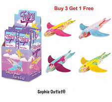 Fairy Flying Glider Planes Loot Party Bag Christmas Stocking Filler Toy Game B3