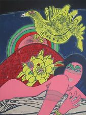 GUILLAUME CORNEILLE LITHOGRAPH 65,5x51cm HANDSIGNED