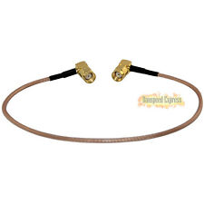 RP-SMA Angled 90 Degree male To RP SMA male RF Extension Pigtail Cord RG316 30cm