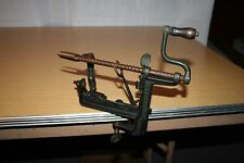 Vintage Cast Iron White Mountain Apple Peeler with Table Clamp Goodell Co