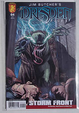 DRESDEN  FILES COMIC STORM FRONT NO.4 OF 4. JIM BUTCHER. BAGGED & BOARDED