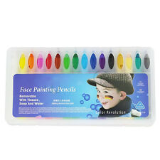 16Colors Face Painting Pencils Splicing Face Paint Christmas Body Painting HU