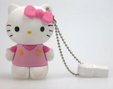 HELLO KITTY MEMORIA USB 8 GB  DRIVER LAPIZ ROSA ROSE PEN DRIVE USB 2.0 PENDRIVE