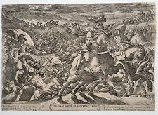 ANTONIO TEMPESTA: ABRAHAM BEFREIT SEINEN NEFFEN LOT. NICOLAS VAN AELST, 1613