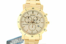 Ladies Citizen FB1342-56P Eco-Drive Gold-Tone Stainless Chronograph Watch