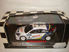 MINICHAMPS 400038374 FORD FOCUS RS WRC N°4 ACROPOLIS RALLY 2003 au 1/43°