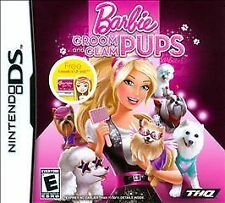 Nintendo DS Barbie Groom And Glam Pup VideoGames