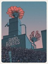 Band of Horses Concert Poster - Neal Williams - Limited Edition of 180