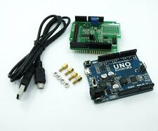 DAQ-1000 3CH 15bit DAC 10bit ADC 4DI with UNO R3 Data Acquisition Kit Low Cost