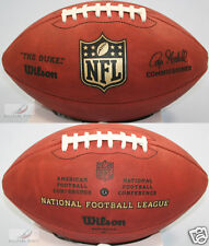 "WILSON F1100 OFFICIAL NFL GAME FOOTBALL ""THE DUKE"""