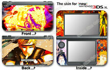 Naruto Amazing Ninja Vinyl Skin Sticker Cover Decal #2 for NEW Nintendo 3DS XL