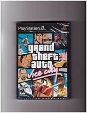 Grand Theft Auto: Vice City (Playstation 2 PS2 GTA Shooting Driving) Brand NEW