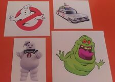 Ghostbusters Ghost buster Sticker Set of 4 Decal Graphic Vinyl