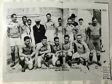 photo press football      1924   Jeux Olympiques  Equipe de France         205