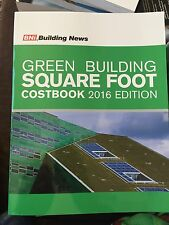 BNi Green Building Square Foot Costbook - 2016 Edition