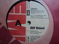 """Cliff Richard """"Carrie"""" Classic Hit Oz 7"""""""