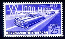 MILLE MIGLIA 1953 -   FILIGRANA NS  NUOVO **