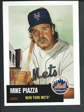 TOPPS Mike Piazza NY Mets by James Fiorentino/Goodsports Art