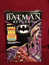 BATMAN RETURNS 1992 Ralston Cereal Box with Rare Double Vision Imager