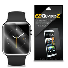 3X EZguardz LCD Screen Protector Skin HD 3X For Apple Watch Sport 42mm (Clear)