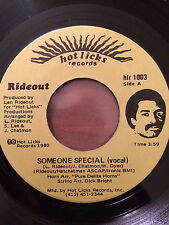 RIDEOUT, SOMEONE SPECIAL, SUPER RARE MODERN SOUL 45