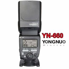 Yongnuo YN660 Flash Speedlite Master for YN560 IV RF-603 II RF-605 YN560-TX US