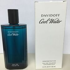 Davidoff Cool Water Cologne for Men 4.2 oz EDT BRAND NEW TESTER + FREE SHIPPING