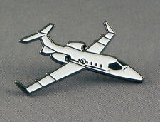 Lear Jet (Plane Aircraft Aviation Learjet) Metal Quality Enamel Pin Lapel Badge