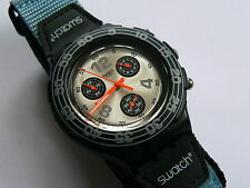 1997 Swatch watch AquaChrono Radar  SBB106