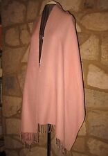 Ex-Cashmere Company Wool Silk Light Pink 22'' x 83'' Long Scarf Shawl Wrap