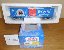 MTH 30-74360 RUDOLPH THE RED-NOSED REINDEER YUKON CORNELIUS BOXCAR O GAUGE TRAIN