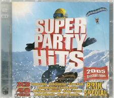 2 CD COMPIL 40 TITRES--HITS 2005--PINOCCHIO/SINCLAR/GUETTA/POKORA/LAAM--NEUF