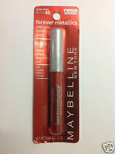 Maybelline Forever Metallics Metal Shine Lip Color Pencil (GINGER SHEEN #40) NEW