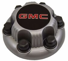 1999-2012 GMC 6-lug Truck Van Steel Wheel Center Hub Cap SILVER NEW