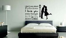 Mesleep I Love You Design Black PVC Wall Sticker - Wall Decal