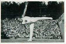 161. Alfred Schwarzmann  Germany Gymnastics OLYMPIC GAMES 1936 CARD