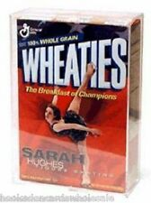 1 Ballqube Brand Cereal Box 18 oz. Wheaties Holder Protect Display case