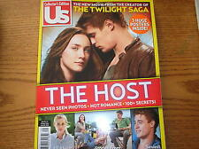 "Us Collector's Edition April ""13 The Host Never Seen Photos Hot Romance  C6"