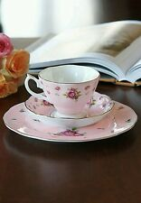 Royal Albert New Country Roses Pink 3 Piece Tea Set - New in Box - Last One!