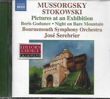CD album: Mussorgsky: Stokowski: Pictures at an Exhibition. Serebrier. Naxos. T