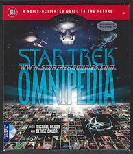 STAR TREK OMNIPEDIA Computer Software TOS/TNG/DS9 Windows 95 MINT BOXED 1985!