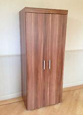 2 Door Double Wardrobe in Walnut Effect Bedroom Furniture * NEW * Set available