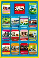 LEGO POSTER ~ FUNNY SCENES 24x36 Cartoon Mini Figure Spoof