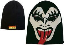 Kiss: Gene Simmons Full Face Beanie Hat / Balaklava With German Logo - Brand New