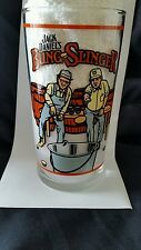Jack Daniels Bung Slinger Glass with Recipe Collectible Barware Original - Libby
